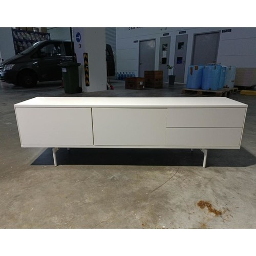 HILFORD TV Console in White