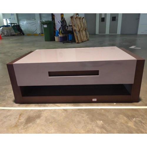 TOMEI Modern Solid Wood Coffee Table