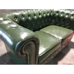 PRE-ORDER SALVADORE X 2 Seater Chesterfield Sofa in EMERALD GREEN - Estimated Delivery in Mid August 2021