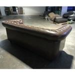 PRE-ORDER SALVADORE X 3 Seater Chesterfield Sofa in DARK COCO BROWN - EST DELIVERY IN EARLY NOV 2021