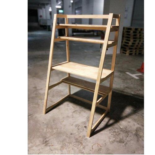 REVOLT Modular Natural Wood Desk