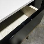 SLANKA Modern Marble Top Dresser Table