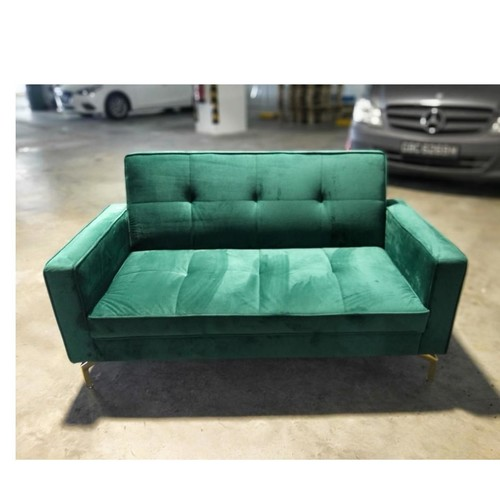 NOBA 2 Seater Sofa in EMERALD GREEN VELVET