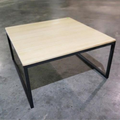 LOFIE SQ Rustic Solid Wood Coffee Table