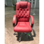 KNOX Executive Office Chair in MAROON RED
