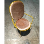 MARUKI Armchair in VELVET BROWN