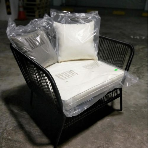 WEBBER Spinel Patio Armchair in BLACK