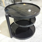 PERILLE Round Coffee Side Table