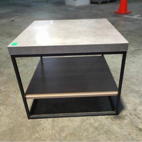 KONKRETE SQ INDUSTRI Series Side Table