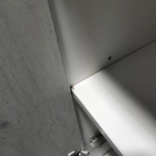 CONSTANCE 3 Tier Swing Door Filing Cabinet ASH Color