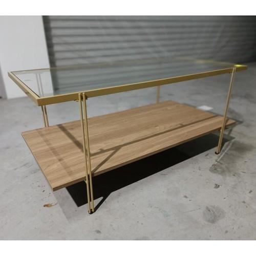 ZOELI Glass Coffee Table