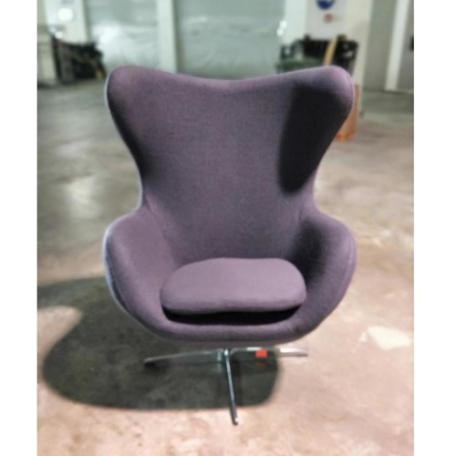 PROMETHEUS Designer Replica Egg Chair in CHARCOAL GREY
