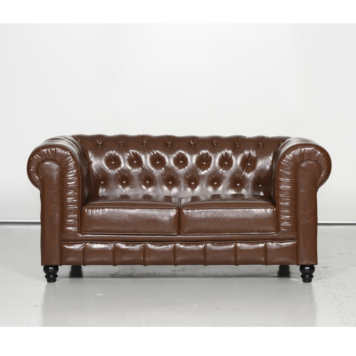 Salvado II 2 Seater Sofa, old pu style
