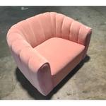SHELLA Pink Armchair Sofa