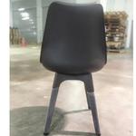 VARIS Designer Scandi Dining Chair in BLACK SET