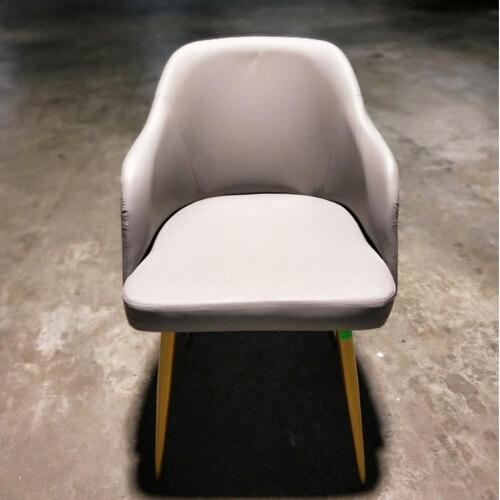 6 x FAITH Designer Grey Velvet Dining Chair