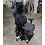 BLACKWOLF Reaper Series Grey Fabric Ergonomic Gaming Chair