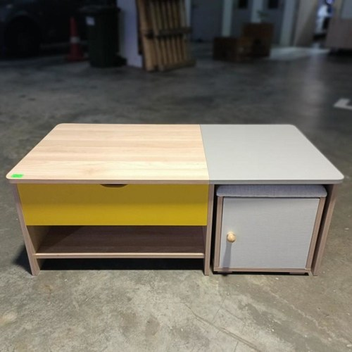 AVALON Lift Top Coffee Table with Stools