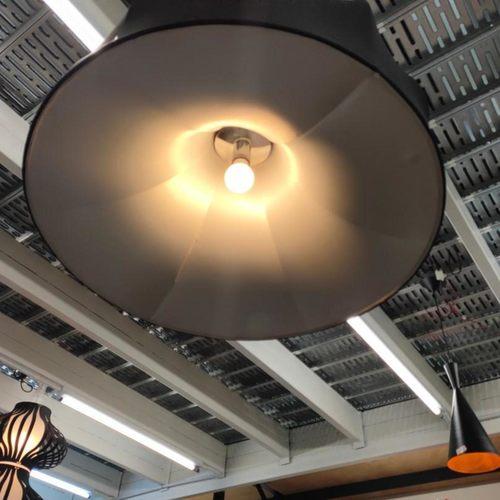 MANCHURA BLACK M Hanging Ceiling Lamp MD50062-1-800