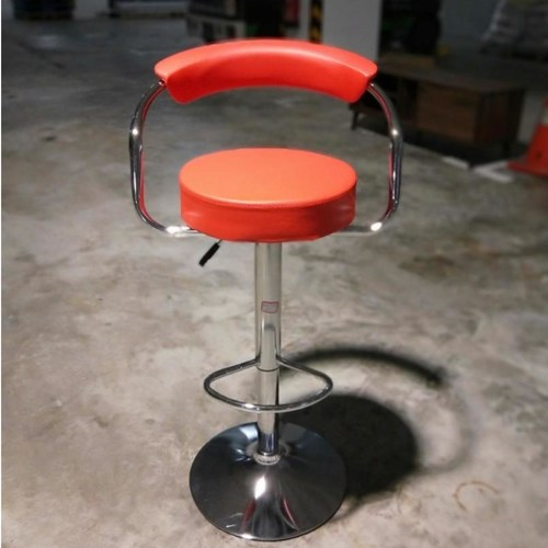 STRADER Bar Stool in RED