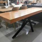 ESTONI Wishbone Solid Wood Dining Table