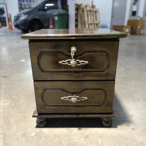 HENDASON Solid Wood Side Table