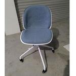 FERNANDO Office Chair in DENIM BLUE