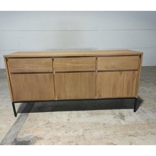 MCQUEEN Solid Wood Sideboard
