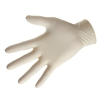 Rbotronics Disposable Latex Medical Examination Gloves Pack of 10 Pcs Medium