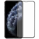 11D Tempered Glass Designed for iPhone 11 | Full Glue | Complete Edge - To - Edge Screen Protection | High Durability Screen Protector Tempered Glass For Apple iPhone 11 (Black)