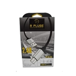R PLUSS USB Data Cable Fast Charging 2.4 AMP Micro