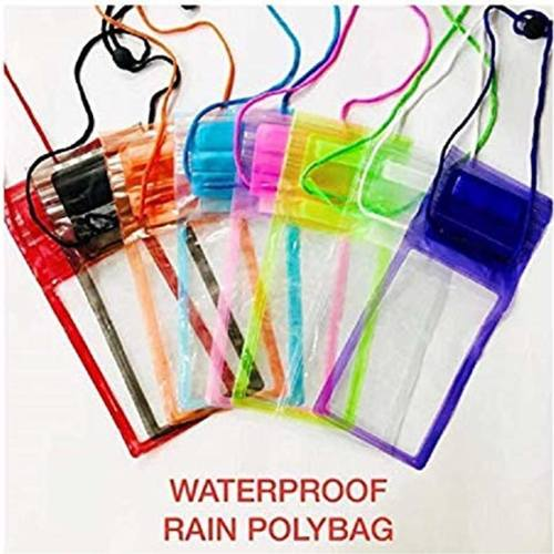 Waterproof Sealed Transparent Bag with Luminous Underwater Pouch Phone Case for iPhone/Samsung/HTC