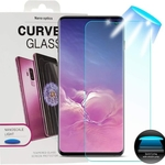 Galaxy S10 5G UV Screen Protector 3D Curved Edge 9H Premium Tempered Glass [Bubble Free] Adhesive Installation Tools Screen Film for Samsung Galaxy S10 5G
