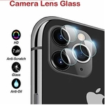 Rbotronics Camera Tempered Glass Screen Protector for iPhone 11 Pro;iPhone 11 Pro Max(Clear)