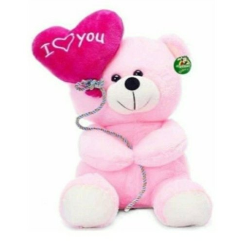 Rbotronics I Love You Balloon Teddy Bear in 30 cm ( Pink)