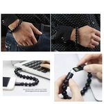 Rbotronics Necklace Pearl Cable for iPhone Charging Bracelet Beads Bracelet