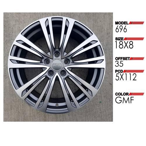R75 - 18 Inch Alloy Rims 18X8.0 ET35 5X112 GMF