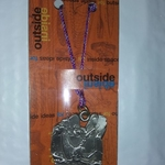 GSI Whitewater Kayak Pewter Ornament .. New