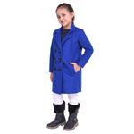 Blue Colour Kids Woolen Coat