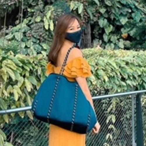 Large Essential Bag-Navy Blue