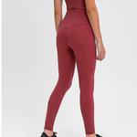 Essential Legging-Crimson