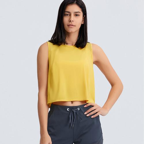 Energy Crop Tank-Primrose Yellow