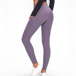 Pocket Leggings-Lilac