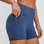 Habs Pocket Shorts-Blue