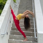 Essential Leggings-Lucky Red