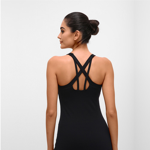 Move and Flow Tank-Black