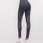 Mesh Legging-Lilac Grey