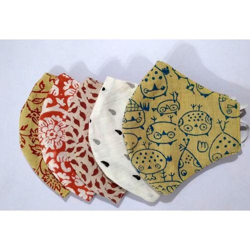Masky Time - Reusable, Washable Cloth Masks Pack Of 5