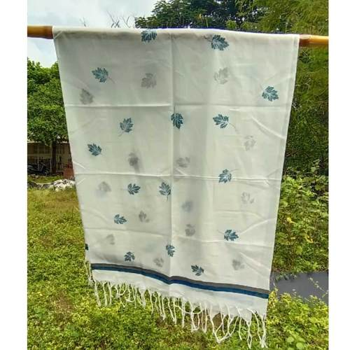 Evergreen Blue and Grey Stole