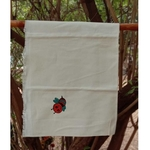 Embroidered Bee Towel